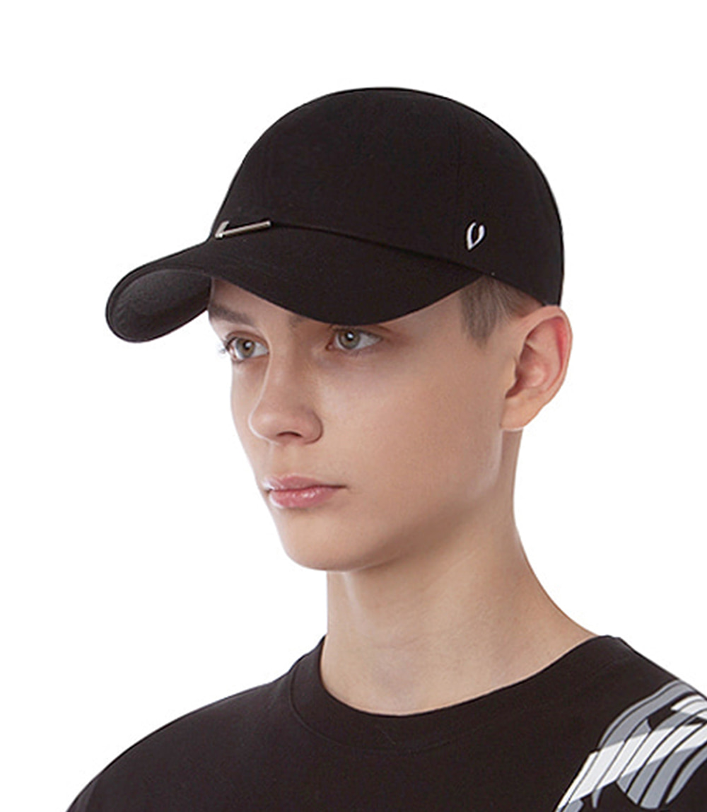 TRIANGLE VISOR BALL CAP (BLACK)