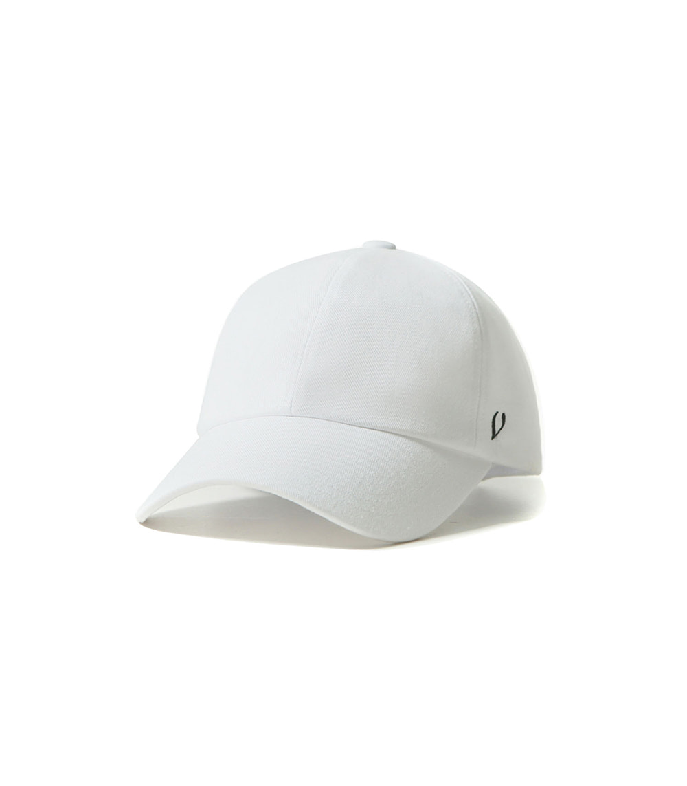 BLACK LINE - REAL COTTON BALL CAP (WHITE)