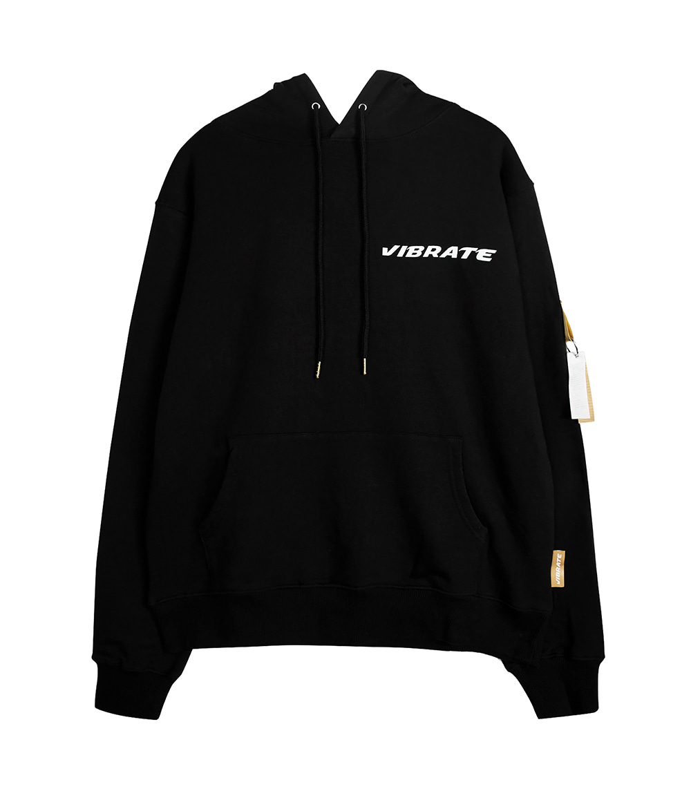 GOLDLINE DIAMOND HOODIE (BLACK)
