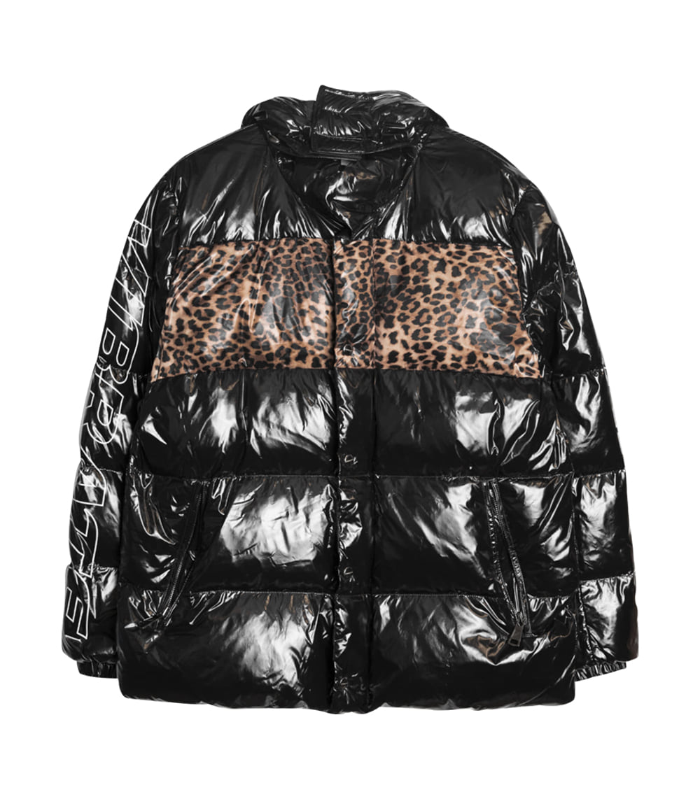 EXPEDITION SHORT DUCKDOWN LEOPARD JACKET MEN'S